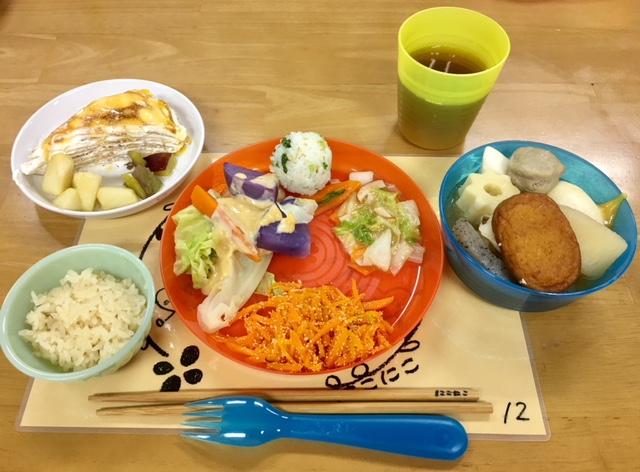 にこにこ食堂 11.16 2